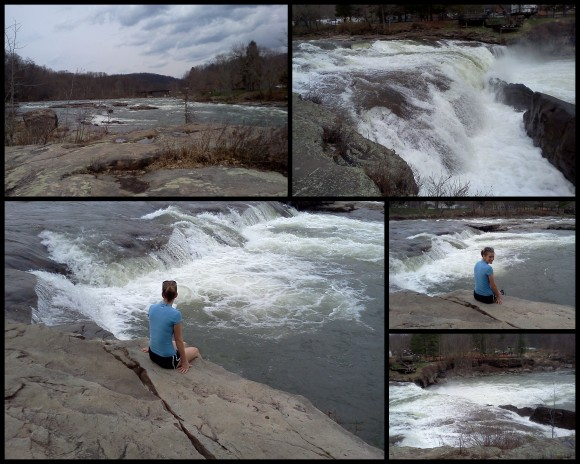 Hiking at Ohio Pyle 4-10-131