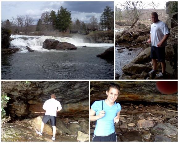 Hiking at Ohio Pyle 4-10-132