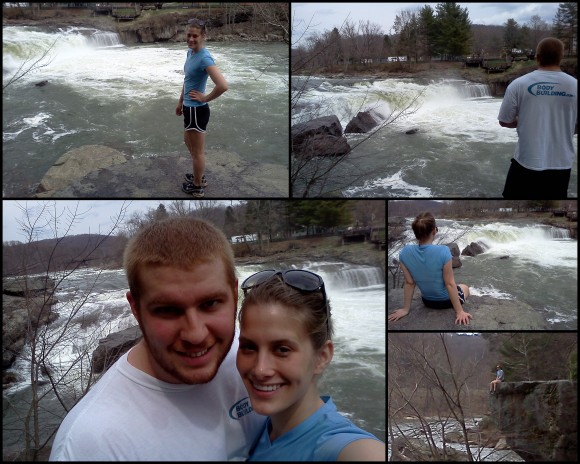 Hiking at Ohio Pyle 4-10-134