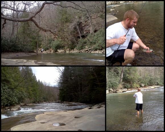 Hiking at Ohio Pyle 4-10-136