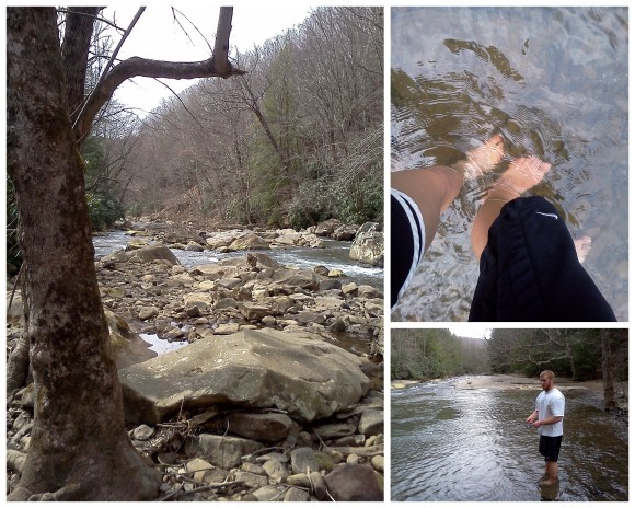 Hiking at Ohio Pyle 4-10-137