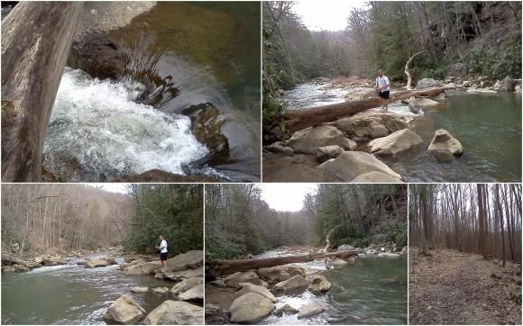 Hiking at Ohio Pyle 4-10-138