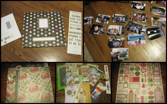 scrap book for blog
