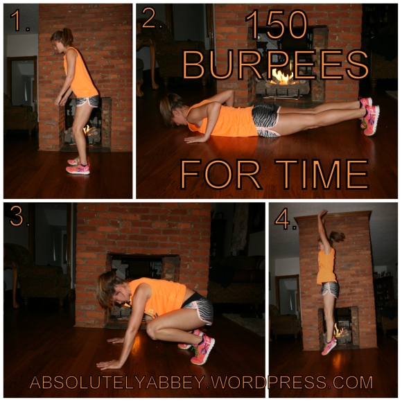 collage burpees